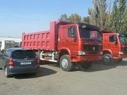Продам самосвалы,  Хово,  Howo в Омске в наличии  6х4 25 тонн ,  2300000 руб в