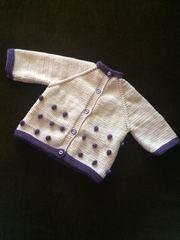 Детский вязанный жакет Hand made