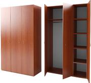 Одностворчатые,  двухстворчатые шкафы,  Платяные шкафы недорого